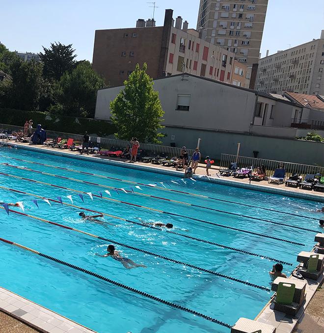 La piscine de Châtillon